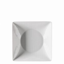 Teller tief quadratisch 20cm - Rosenthal Mesh weiss