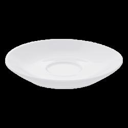 Mocca-Untere ital. Form, 12.5 cm - Elements Hotelporzellan