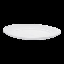 Platte oval 30 cm - Lunasol Hotelporzellan uni weiss