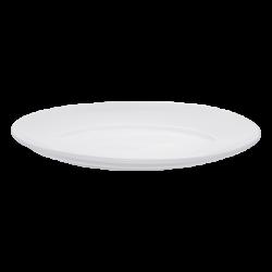 Platte oval 36 cm - Lunasol Hotelporzellan uni weiss