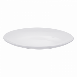 Platte oval 42 cm - Lunasol Hotelporzellan uni weiss