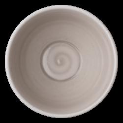 Bowl 16 cm, 750 ml rocca /sand glasur aussen - Elements Hotelporzellan color