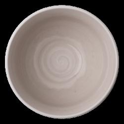Bowl 12 cm, 400 ml rocca /sand glasur aussen - Elements Hotelporzellan color
