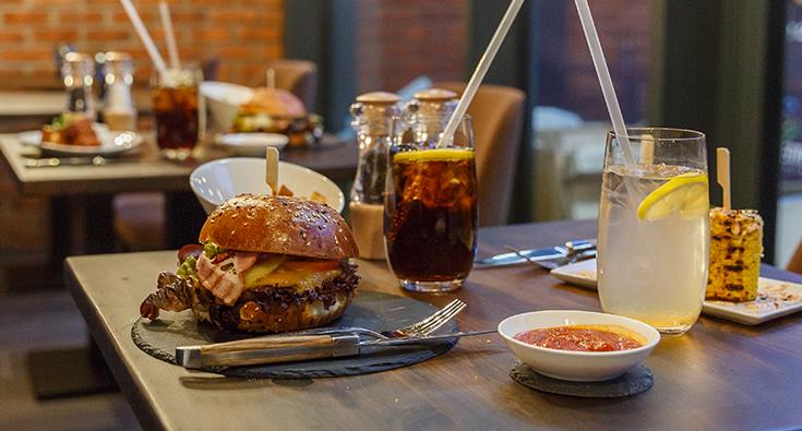 Iconic burger